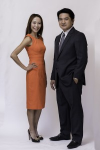 allen huang and victoria chen photo