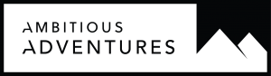 Ambitiuos Adventures wide rectangle logo